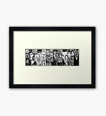 "Doctor Who: ""No, sir... All thirteen!"" Framed Print"