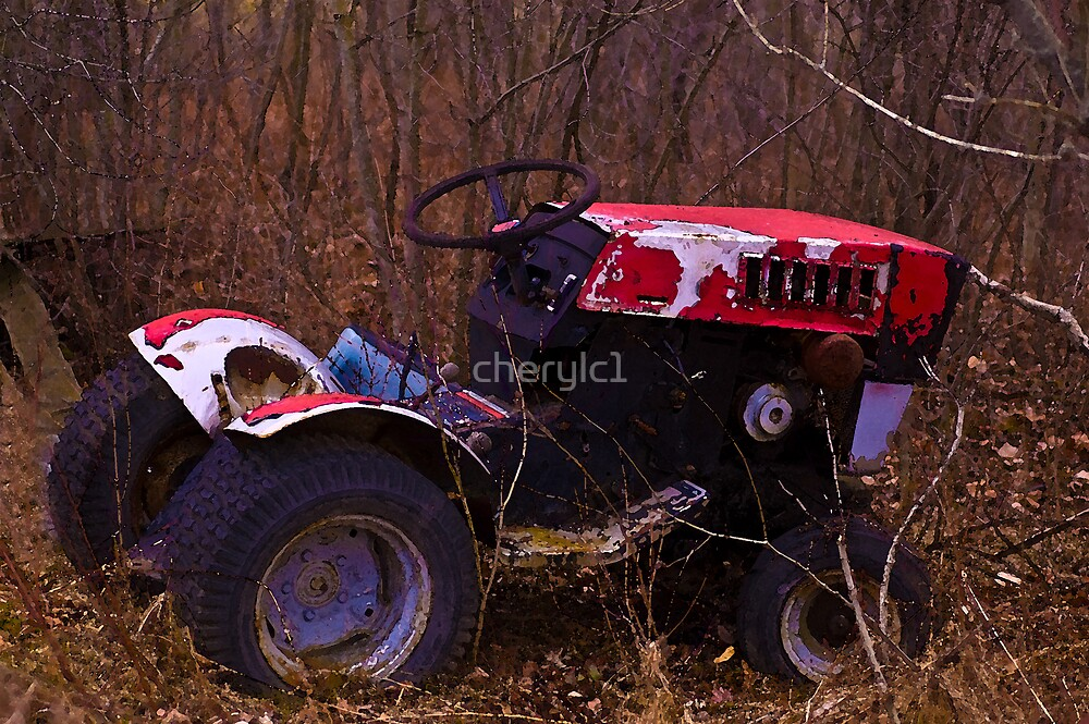 Ole tractor by cherylc1
