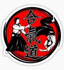 Aikido Martial Arts Self Defence Sticker