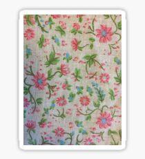 Smal pink flowers  Sticker