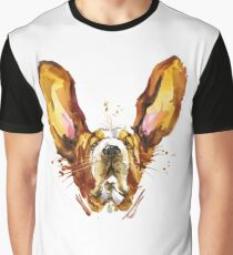 Basset Hound Dog Graphic T-Shirt