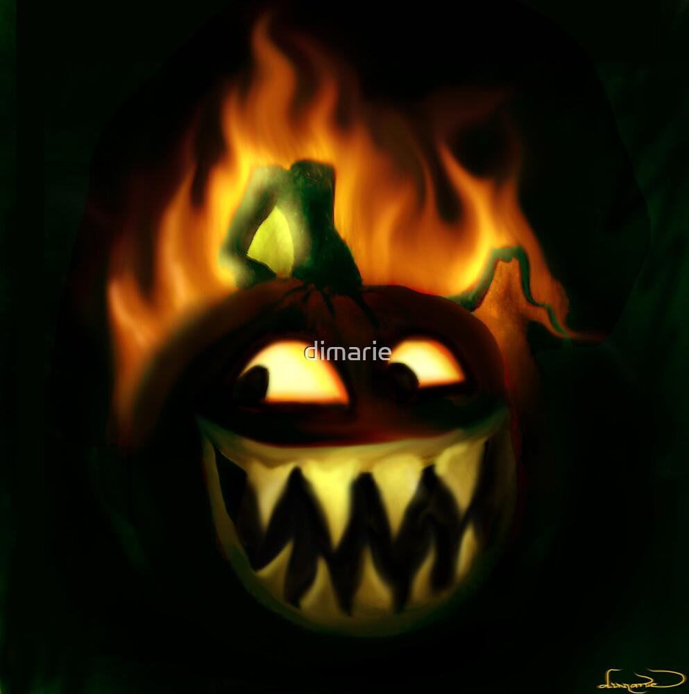 Jacks Hallowe'en fire by dimarie
