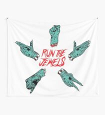 Run The Jewels - Rock, Paper, Scissors, Fist, Pistol Wall Tapestry