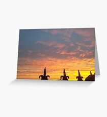 Sunrise Kinsale Cork Ireland Greeting Card
