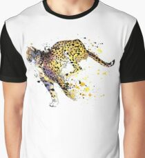 Racing Cheetah  Graphic T-Shirt