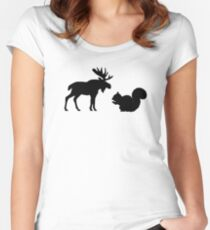 Moose & Squirrel Fitted Scoop T-Shirt