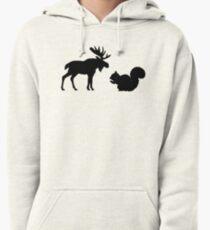 Moose & Squirrel Pullover Hoodie