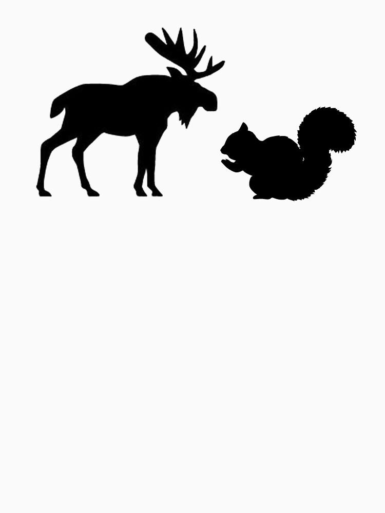 Alce y ardilla de tardisimpala221