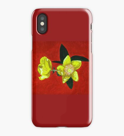LBI Yellow Flowers iPhone Case