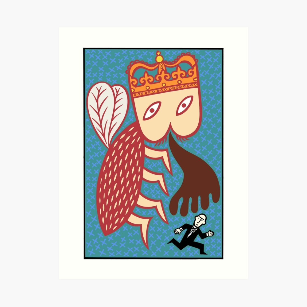 I will be king Art Print