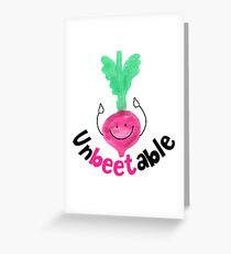 Unbeetable - Punny Garden Greeting Card