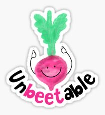 Unbeetable - Punny Garden Sticker