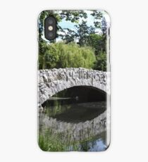 Old Stone Bridge at Beacon Hill Park iPhone Case/Skin