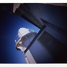 Taking Point Lighthouse - Poalroid pinhole 2 by David Amos