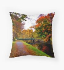 Canal Dream Throw Pillow