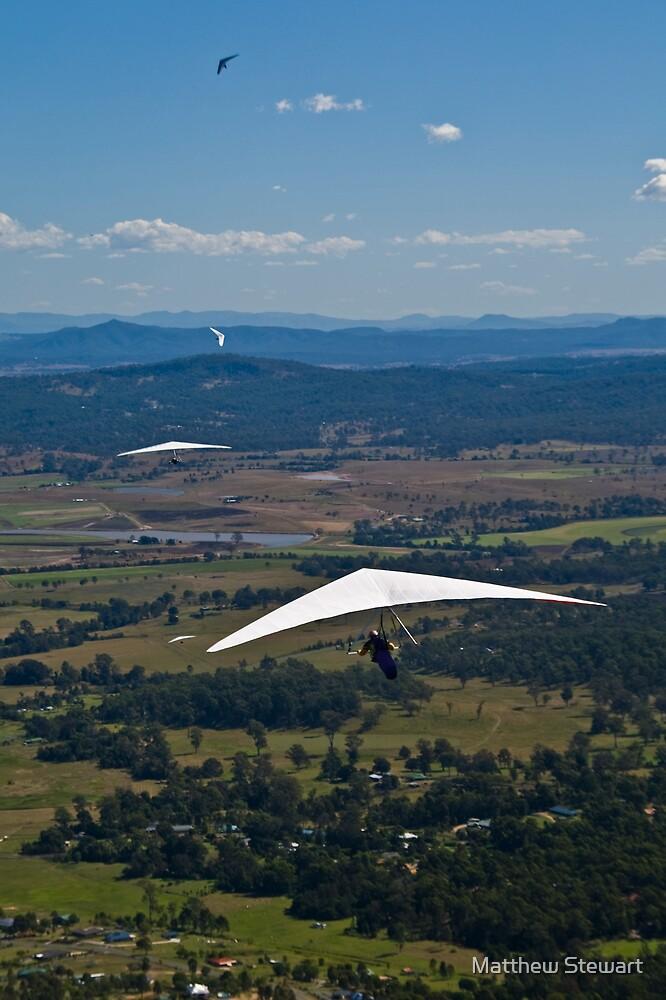 Hang Glider #2 by Matthew Stewart