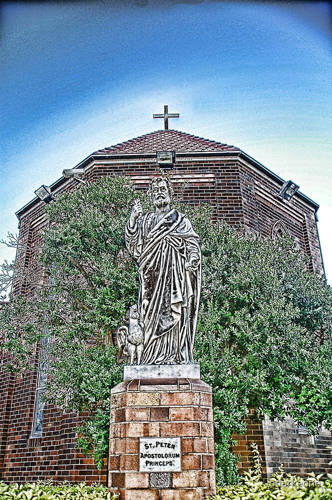 St Peter Statue by odarkeone