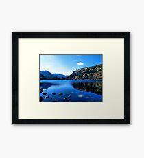 Wicklow Lake  Framed Print