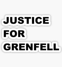 Justice for Grenfell Sticker