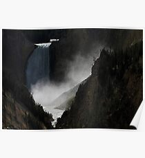 Lower Falls (Yellowstone National Park)  Poster