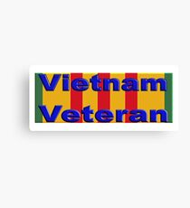 Vietnam Veteran Canvas Print