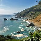 Big Sur Coastline by Stuart Green