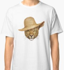 Leopard In A Hat Classic T-Shirt