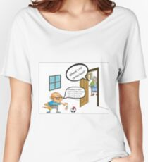 Grandkids Are Coming Craft Comic Women's Relaxed Fit T-Shirt