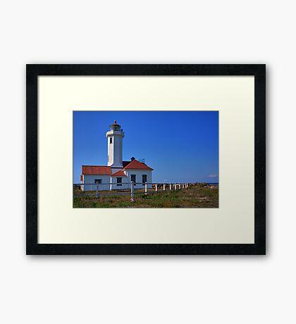 Point Wilson Lighthouse Framed Print