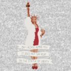 It Does Not Say RSVP On The Statue Of Liberty by Elizabeth Hudy