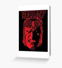 Hellboy Greeting Card