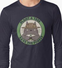 Rette den Wald Langarmshirt