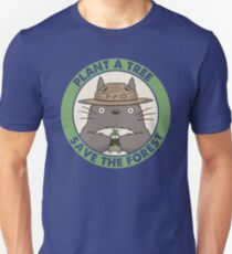 Rette den Wald Slim Fit T-Shirt