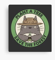 Save the Forest Canvas Print
