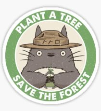 Save the Forest Sticker