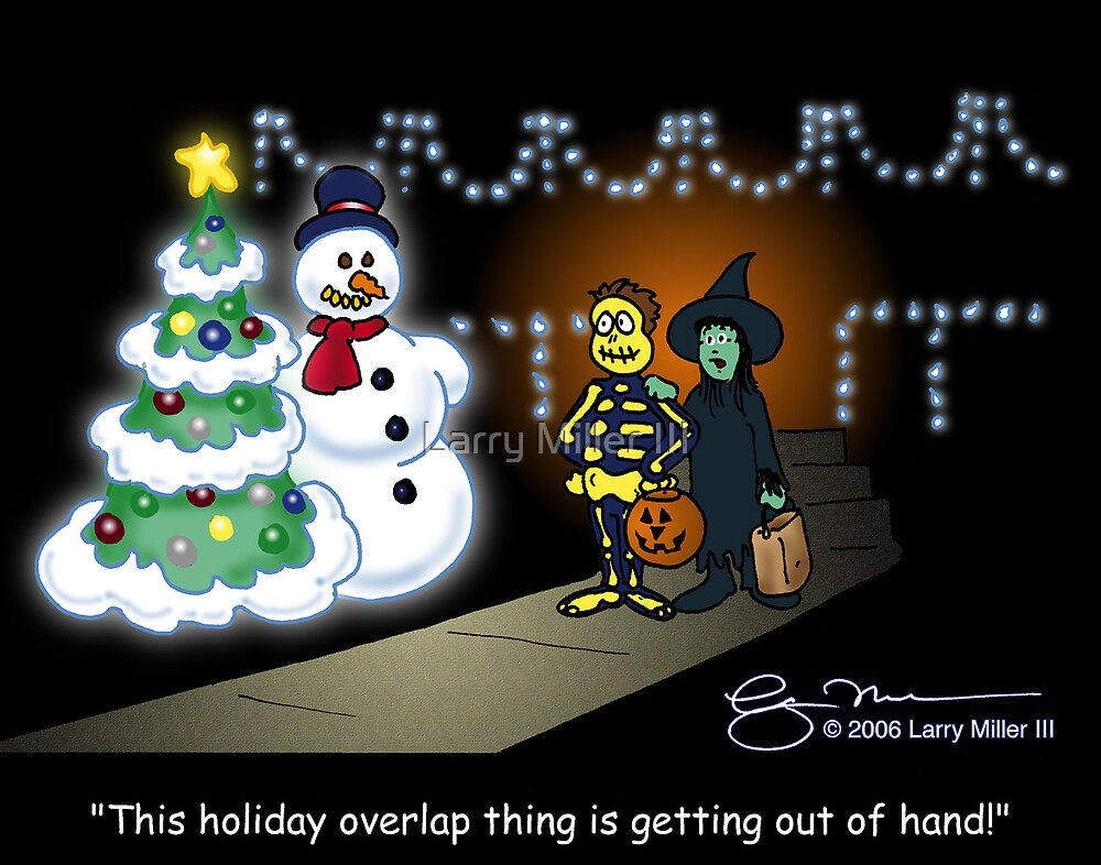 Holiday Overlap by Larry Miller III