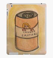 Canned Emotions  iPad Case/Skin