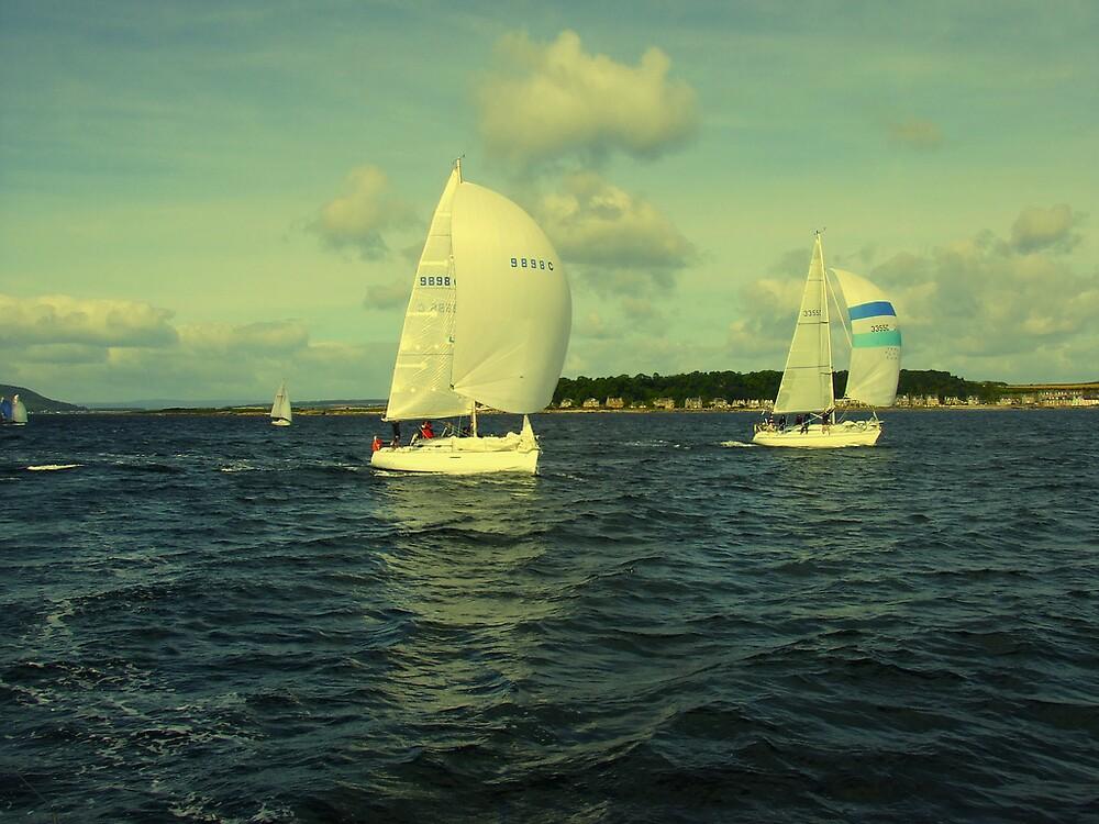 Yacht Race by chtefan