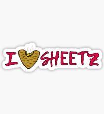Ich Herz Sheetz Sticker