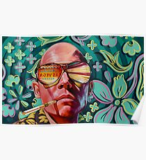 Fear and Loathing Raoul Duke Poster