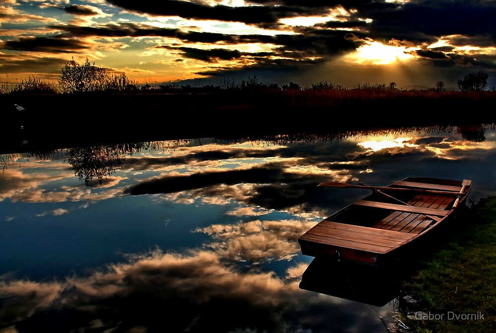 Reflected highness by Gabor Dvornik