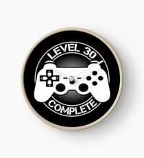 Level 30 Complete Shirt Clock