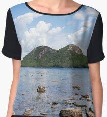 Jordan Pond (Acadia National Park) Women's Chiffon Top