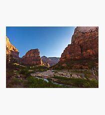 Angel's Landing (Zion National Park) Photographic Print