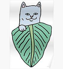 Nermal leaf Poster