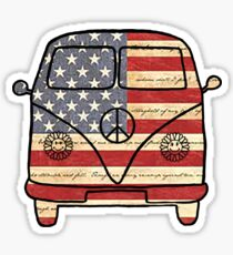 American VW Van Sticker