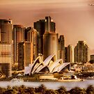 Sydney Cityscape by wallarooimages