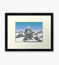 Earth Dragon Framed Print