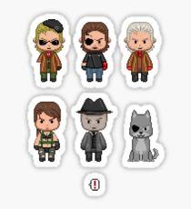 Metal Gear Chibi: The Phantom Pixel Sticker