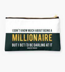 Millionaire Dorothy Parker Studio Pouch
